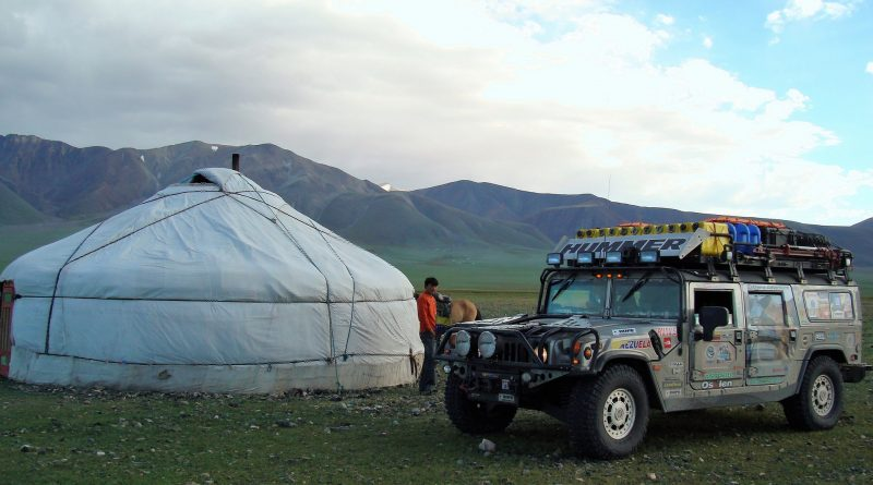 Hummer Expedition en Mongolia-Senderos